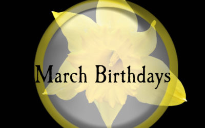 Birthdays – March 2017