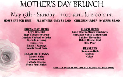Mother's Day Brunch 2018