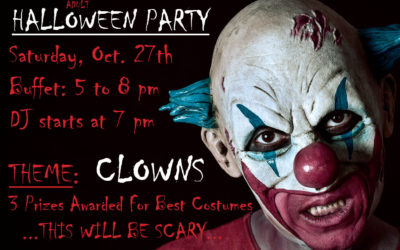 Halloween Party 2018 for the Adults