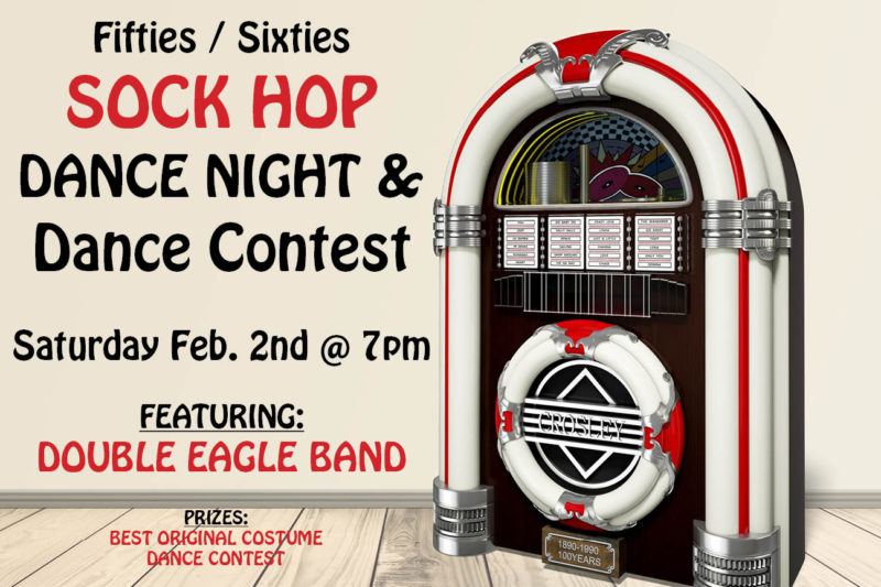 SOCK HOP AND DANCE CONTEST